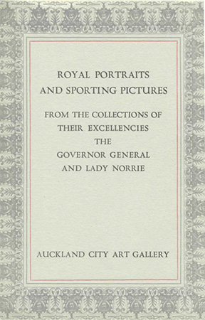 Royal portraits and sporting pictures Image