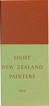 Eight New Zealand painters Image