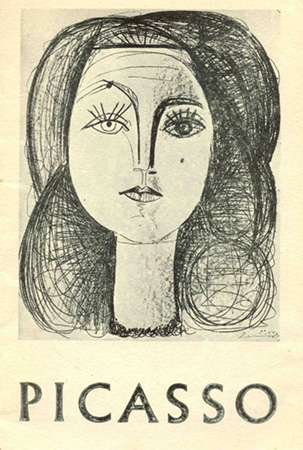 Picasso: An exhibition of lithographs and aquatints Image