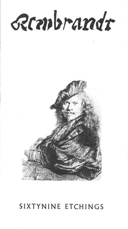 Sixty-nine etchings by Rembrandt Image
