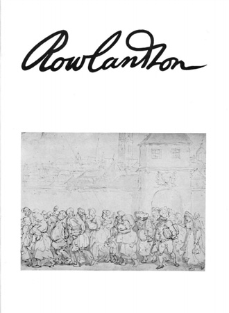 Rowlandson: a collection of drawings Image