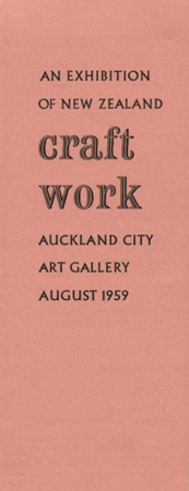 An exhibition of New Zealand Craft Work Image