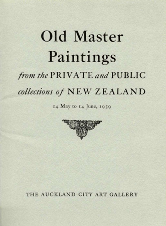 Old Master paintings from the private and public collections of New Zealand Image