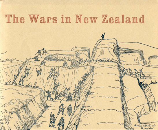 The wars in New Zealand Image