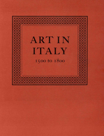 Art in Italy, 1500 to 1800 Image