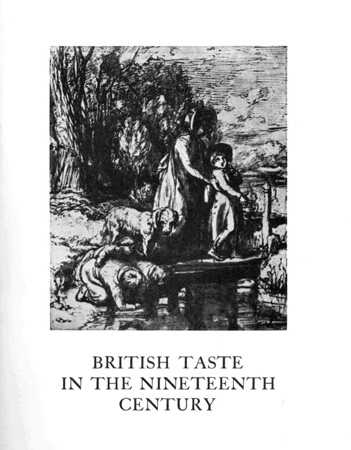 British taste in the nineteenth century Image