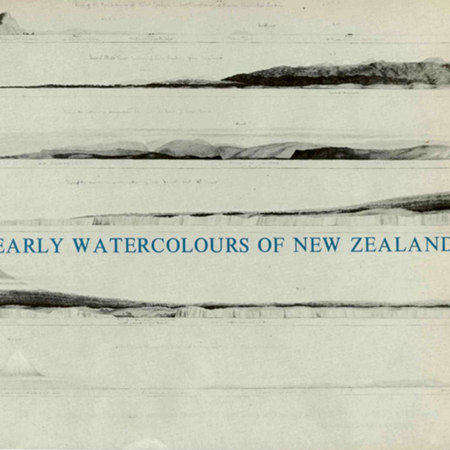 Early watercolours of New Zealand Image