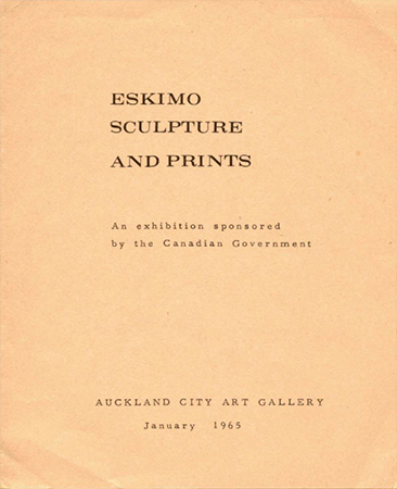 Eskimo sculpture and prints Image