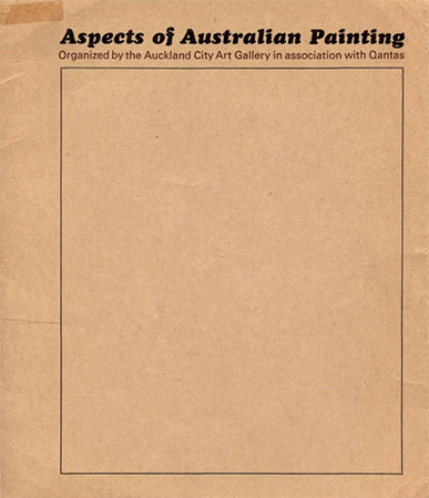 Aspects of Australian painting Image