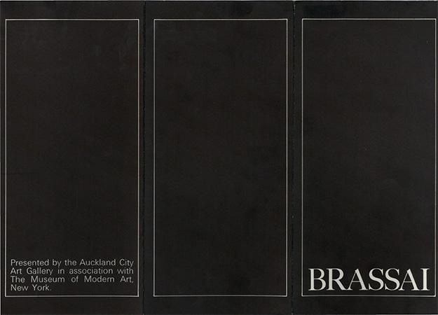 Brassai: seventy-one photographs 1931-1958 Image