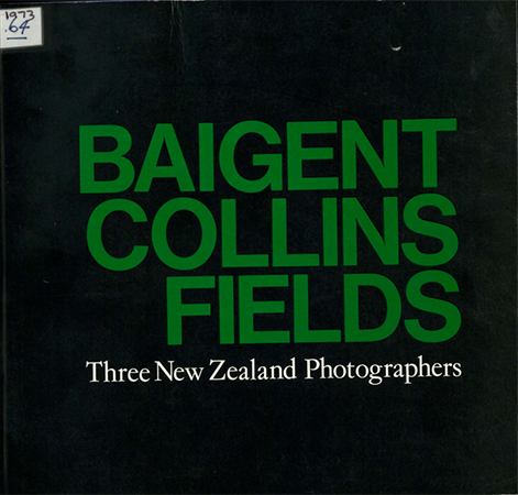 Three New Zealand photographers 1973 Image
