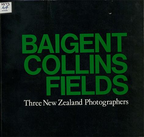 Three New Zealand photographers 1973 Image