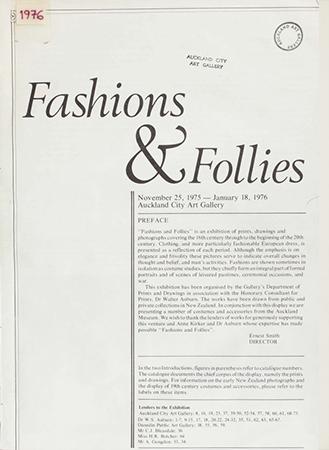 Fashions and Follies Image