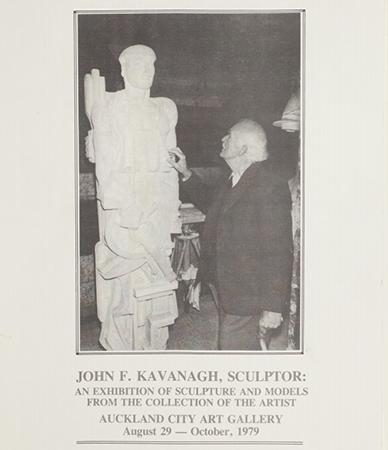 John F. Kavanagh: Sculptor Image