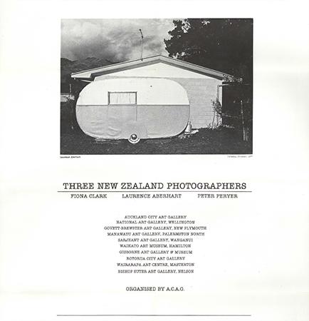 Three New Zealand Photographers 1979 Image