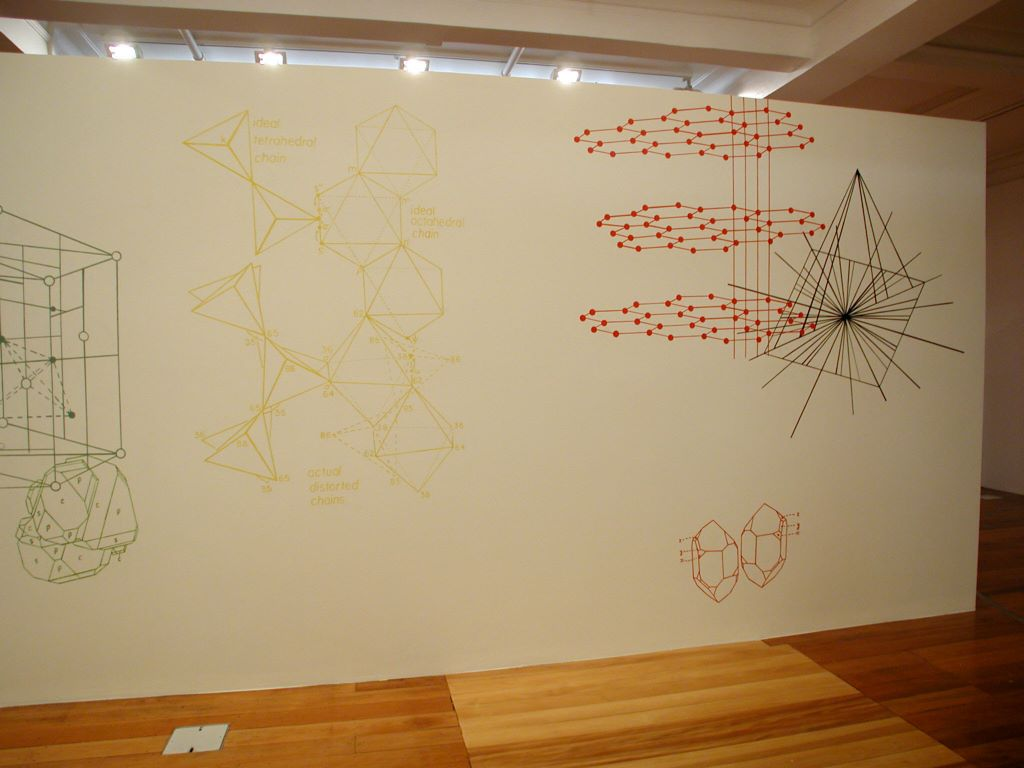 The Crystal Chain Gang: Prismatic Geometry in Recent Art