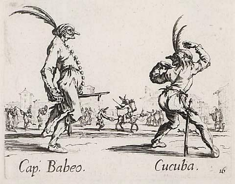 The World's a Stage - Jacques Callot's (1592-1635) Theatrical Etchings