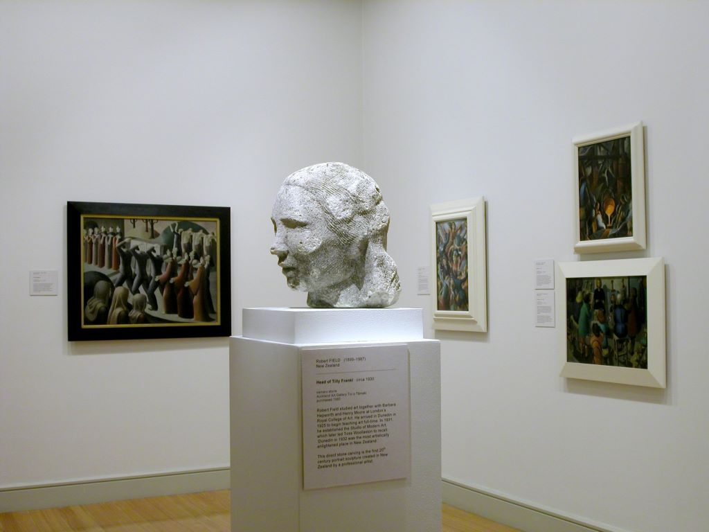 New Zealand Modern: Paintings and Sculpture from the Collection