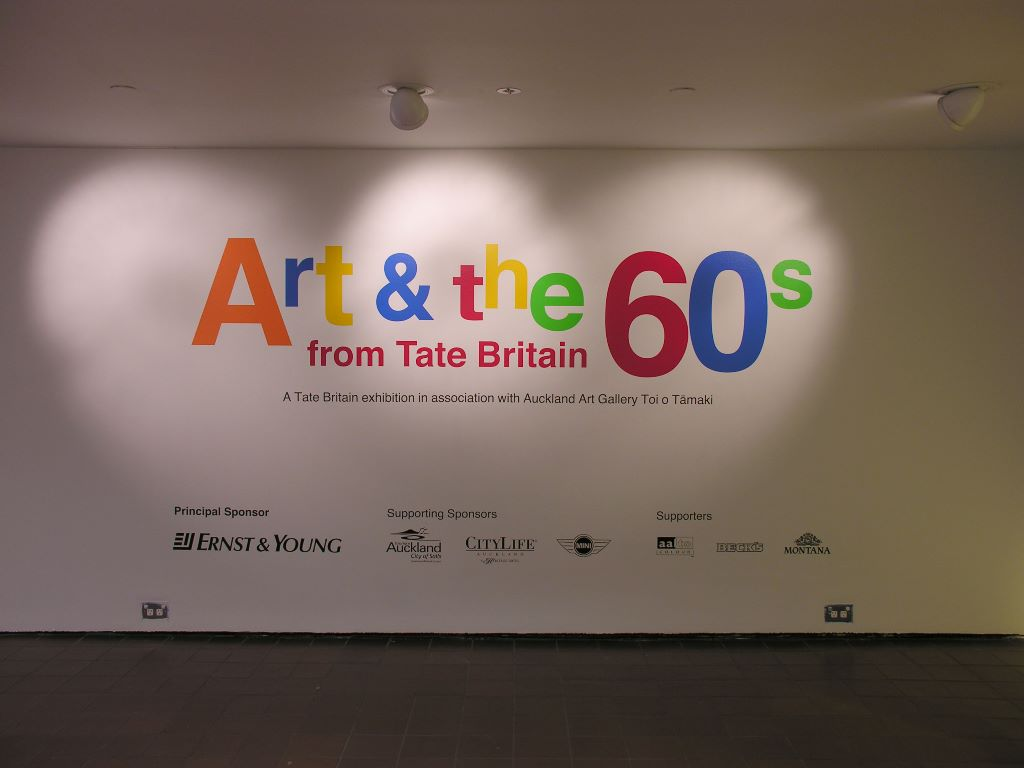 Art & the 60's from Tate Britain
