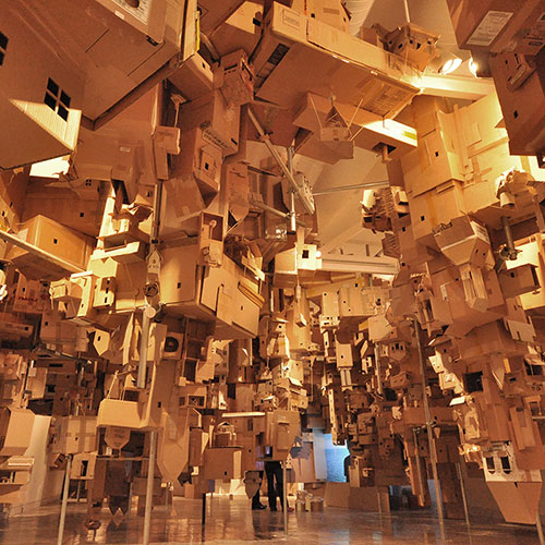 Cardboard city to rise at Auckland Art Gallery  – Project Another Country opens next weekend Image