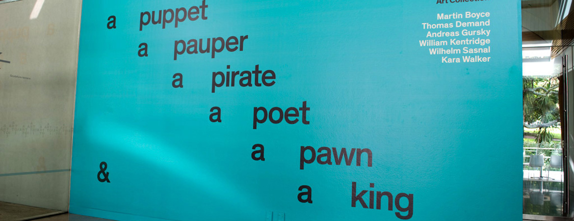 A Puppet, a Pauper, a Pirate, a Poet, a Pawn and a King