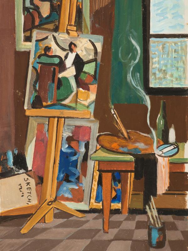 John Weeks: Art in the Archive