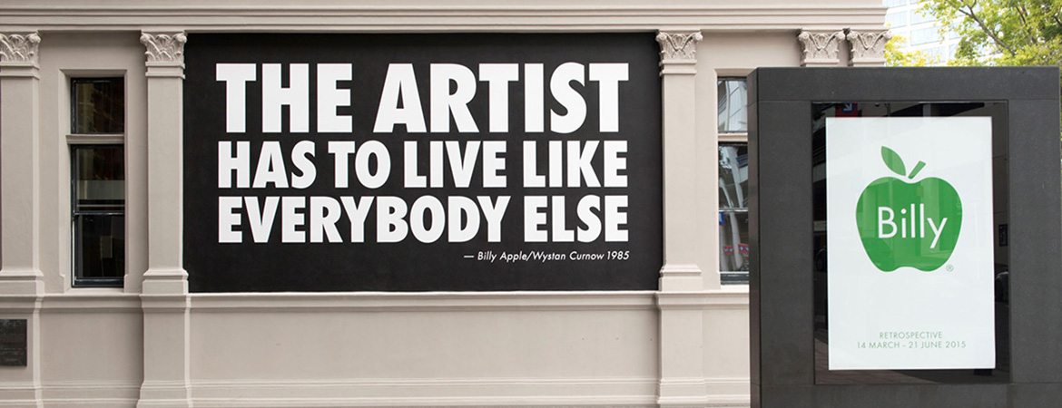 Billy Apple®: The Artist Has to Live Like Everybody Else