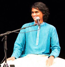 Indian classical singing: Balamohan Shingade