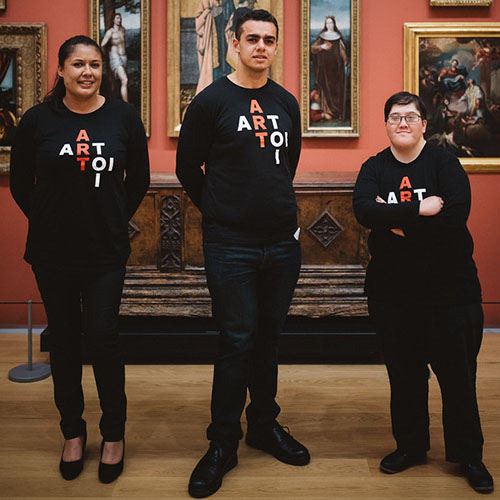 Outreach Internships: Strengthening Community Pathways to Auckland Art Gallery Image