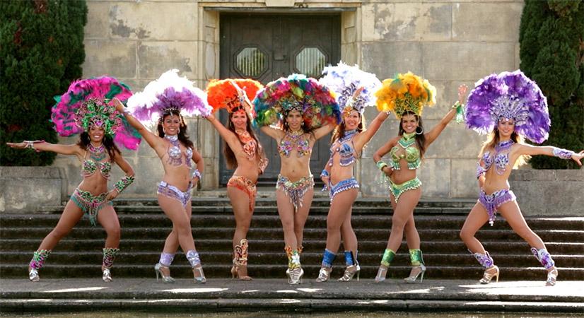 Samba with Brazilian Divas