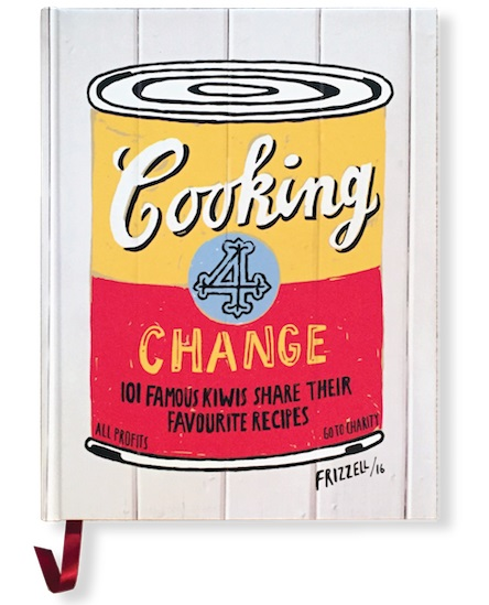 Dick Frizzell: Cooking 4 Change book signing