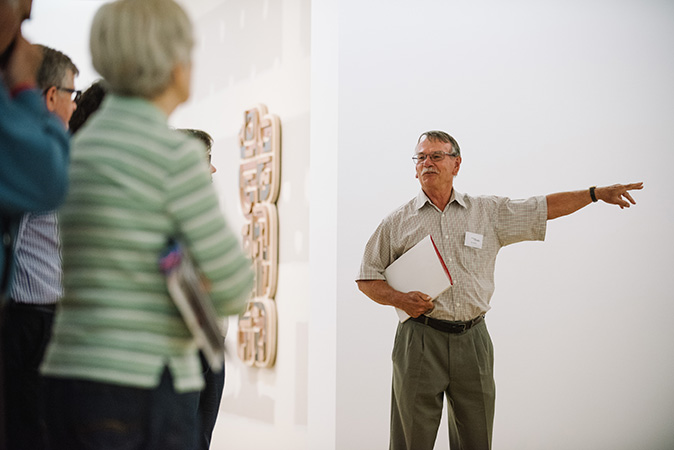 Sign Language-interpreted Gallery tour