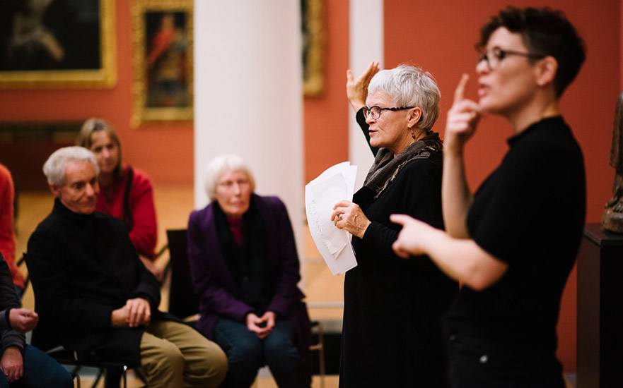 Curator's tour: Mary Kisler on Game Changers