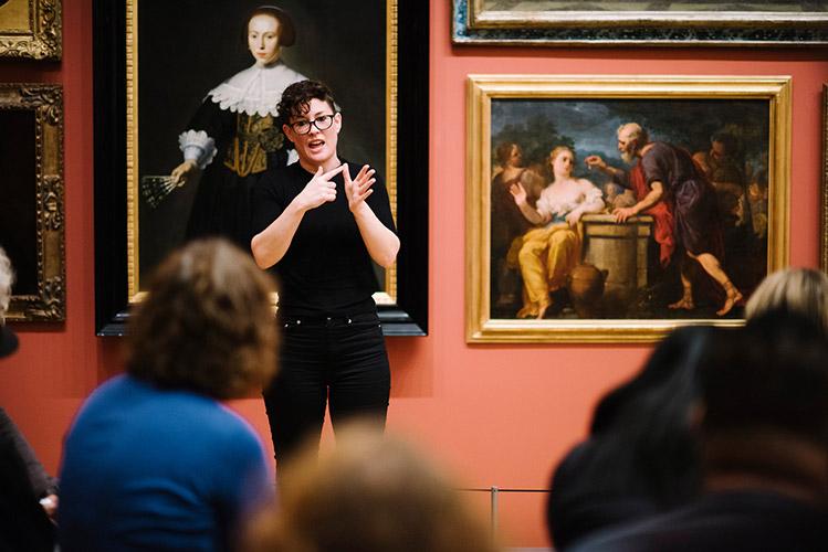 NZSL-interpreted Gallery tour