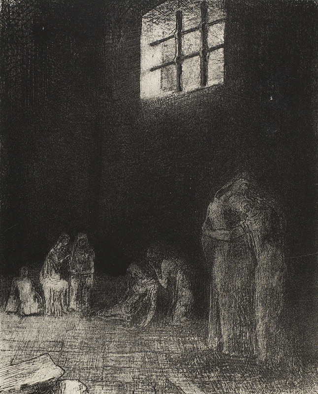 A night without stars: The interior worlds of Redon and the Romantics