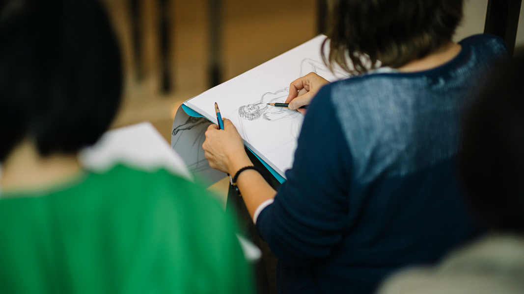 International Sculpture Day: Drop-in Drawing