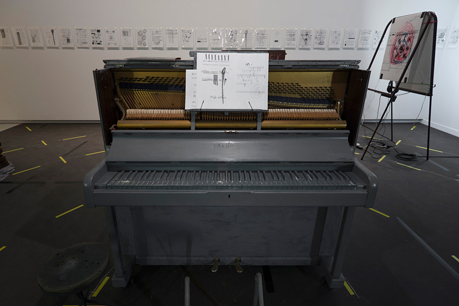 Upright Piano: Live performance