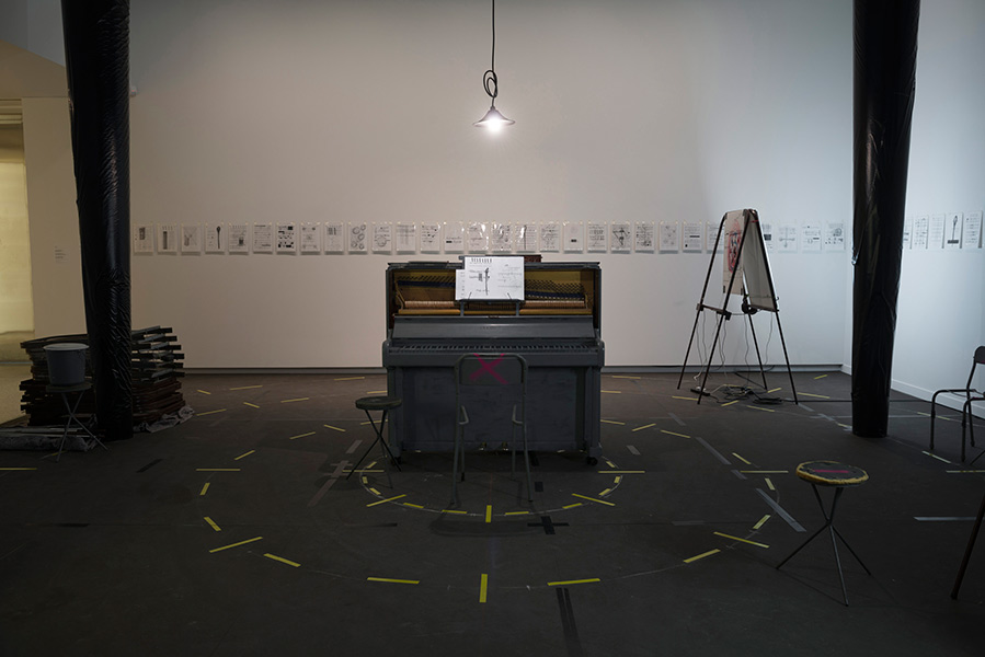 Upright Piano: Live performance