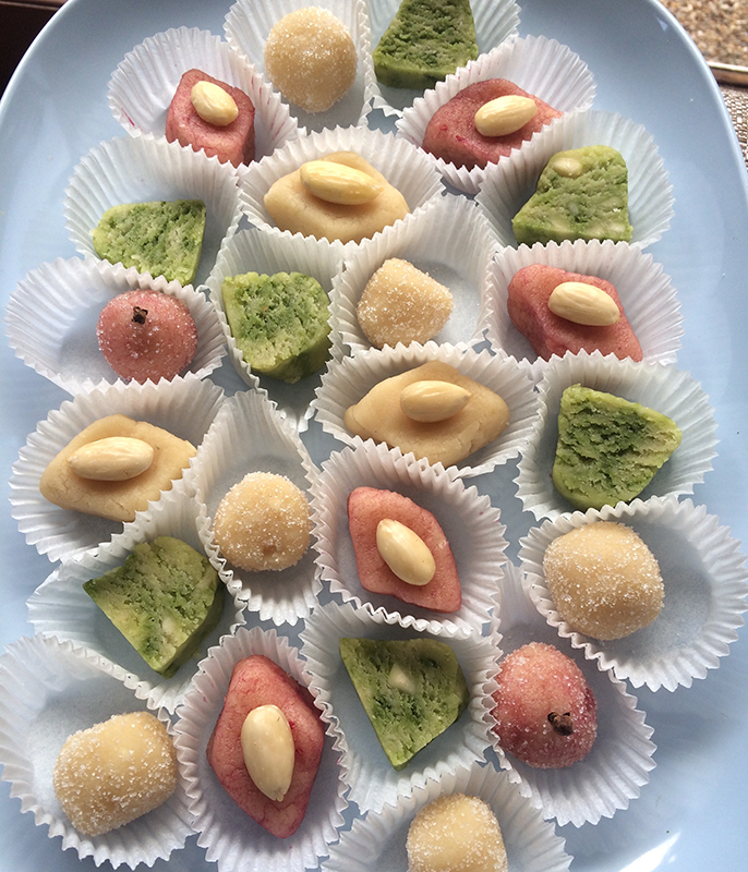 The art of marzipan