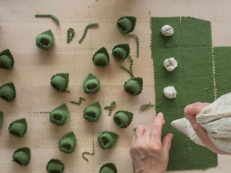 The art of making fresh pasta