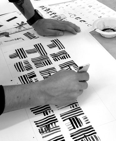 Calligraphy workshop: Experimental Alphabets