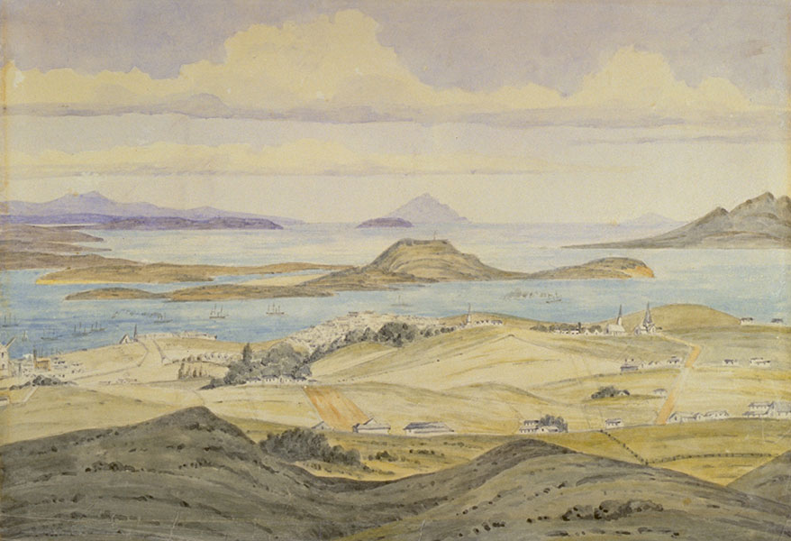 First Impressions: 19th century watercolours of the Auckland region