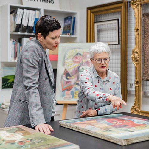 Auckland Art Gallery Toi o Tāmaki and Karen Walker to launch collaboration inspired by pioneering artist Frances Hodgkins Image