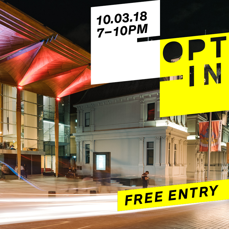 Opt-In: art/bar/food/performances