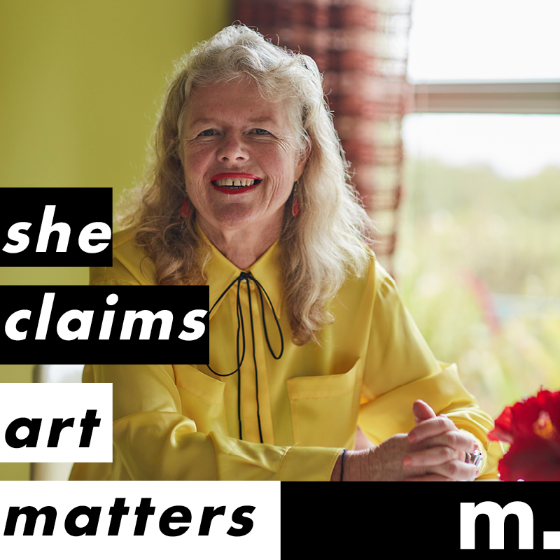 She Claims: Art Matters – Judy Darragh and Rhana Devenport