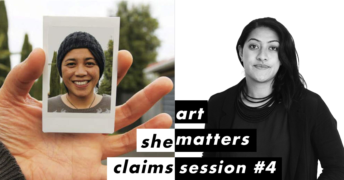 She Claims: Art Matters #4 – Janet Lilo and Ane Tonga