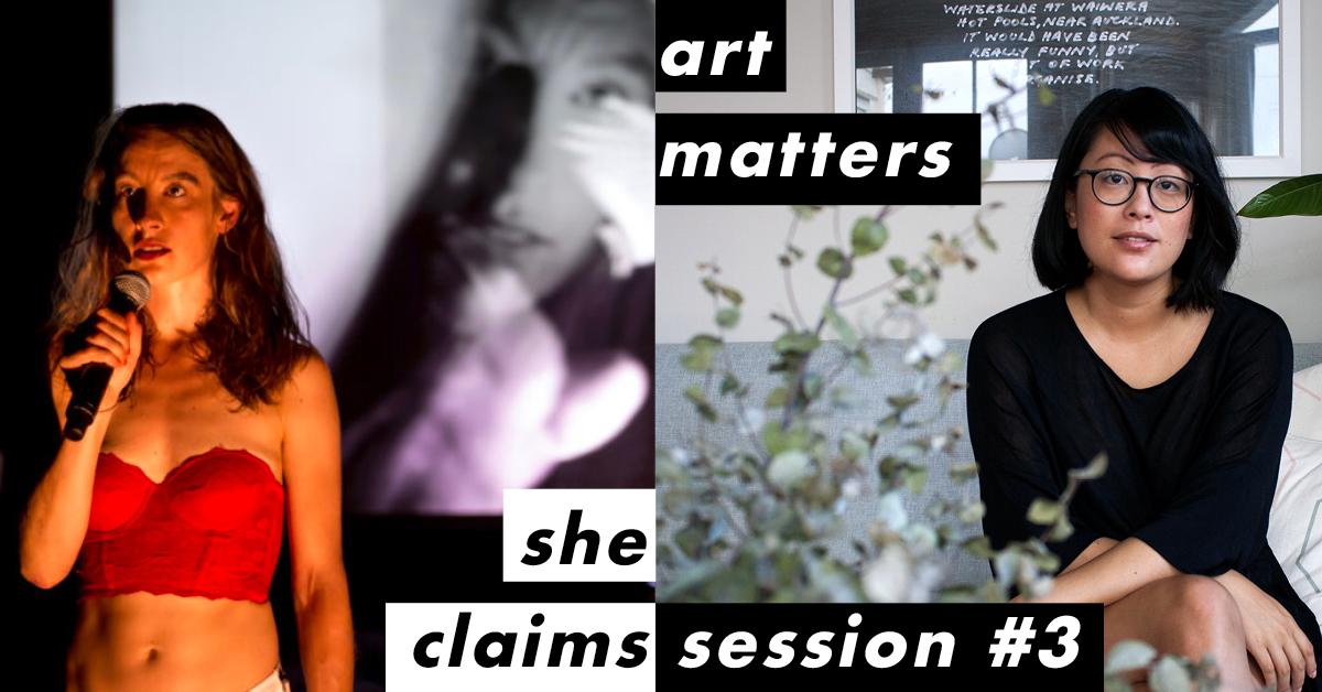 She Claims: Art Matters – Julia Croft and Rosabel Tan