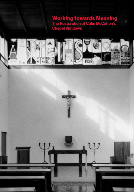 Working towards Meaning – The Restoration of Colin McCahon's Chapel Windows Image