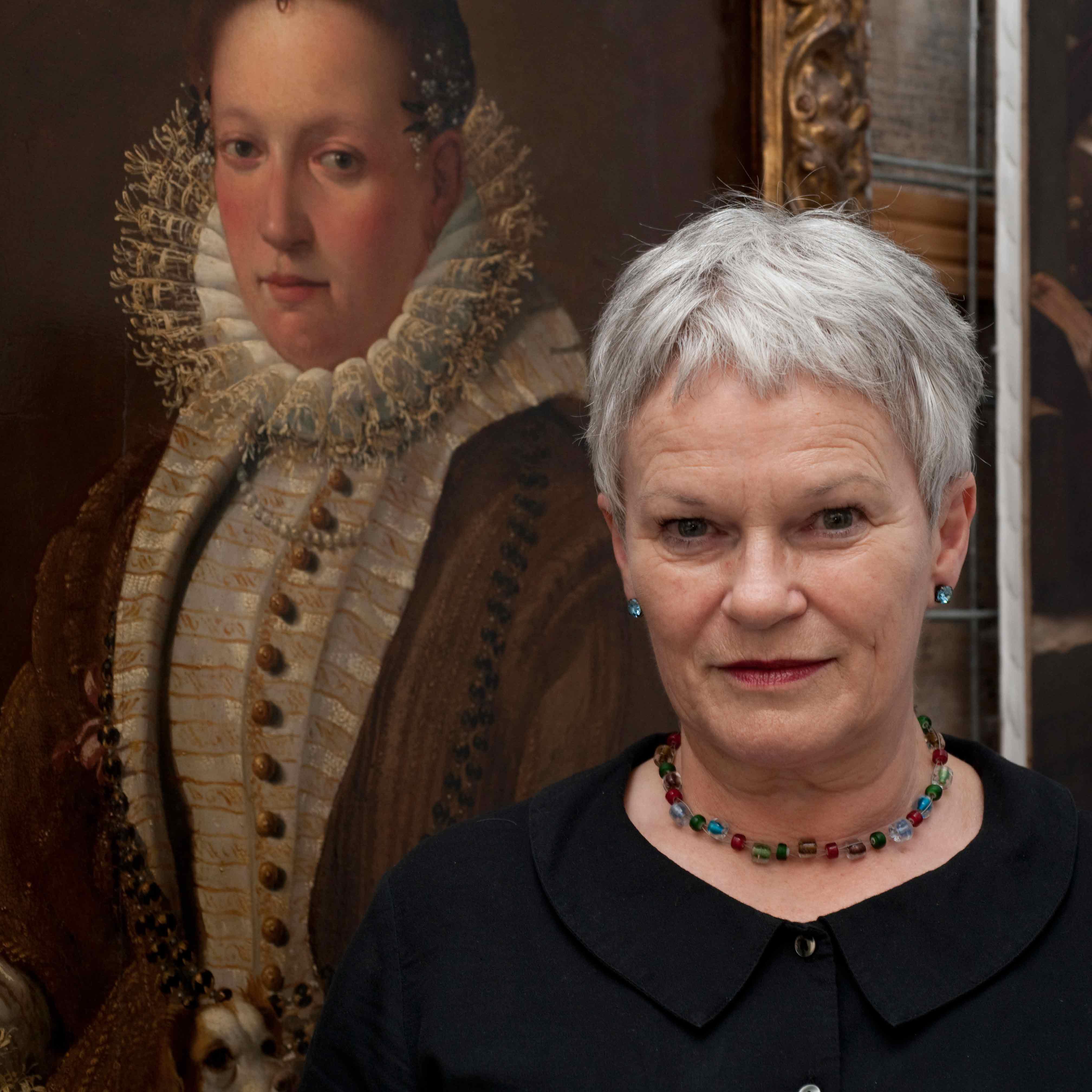 The artist in her studio: Frances Hodgkins & Gretchen Albrecht with Mary Kisler