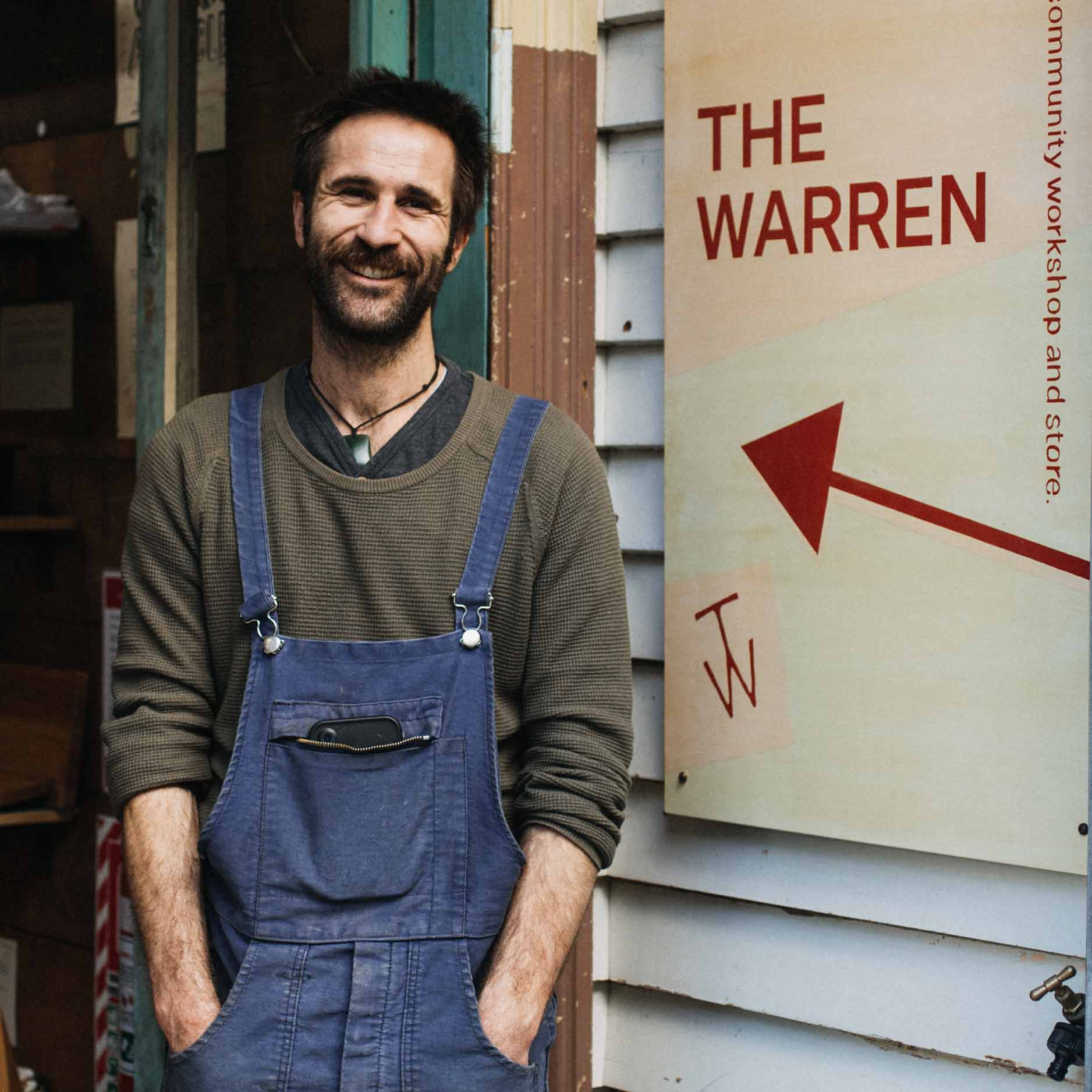 SOLD OUT Wood Workshop at The Warren